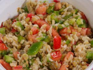 ensalada de atun y arroz